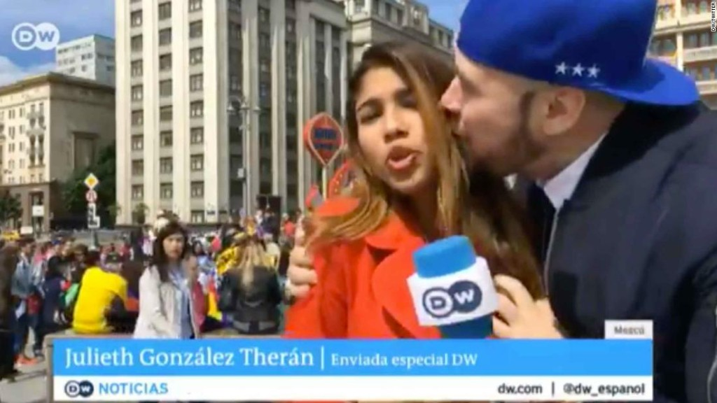 World Cup reporter sexually assaulted on live TV