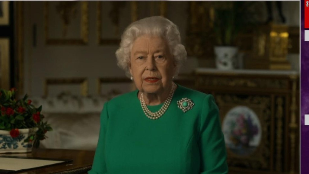 Queen Elizabeth delivers address to nation amid pandemic