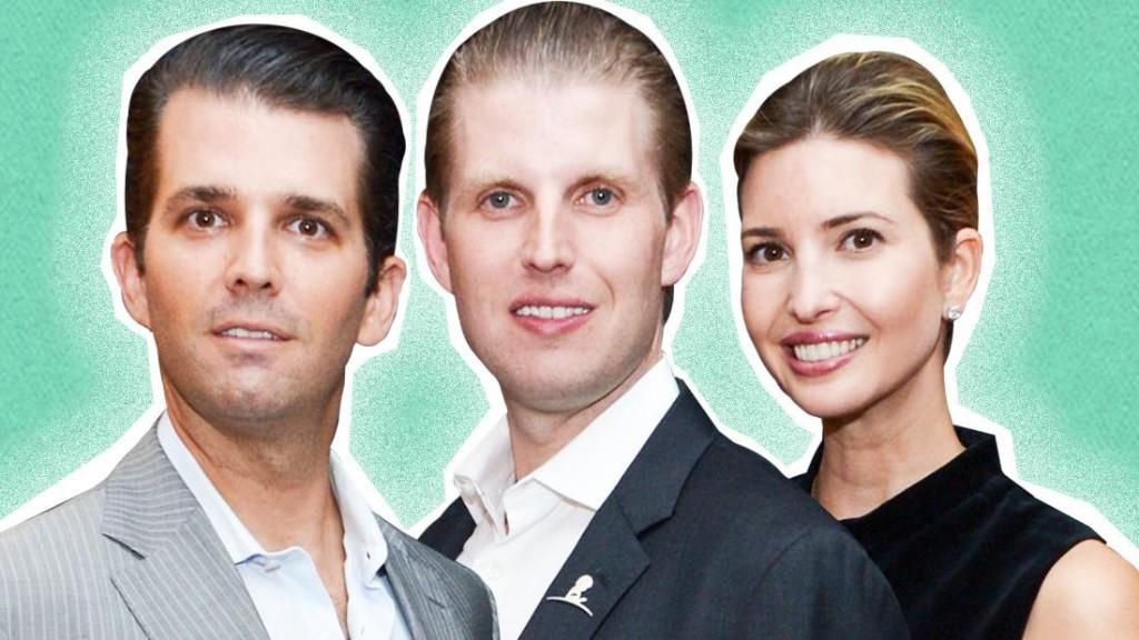 Those Wacky Trump Kids! - cover