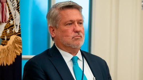 Ex-Fox News executive Bill Shine out at the White House