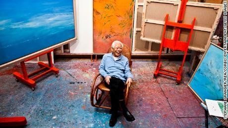 Zao Wou-Ki, the Chinese abstract painter who sells for millions