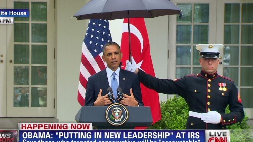 All Marines are now allowed to use umbrellas