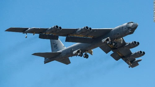 B-52 bombers to take on ISIS