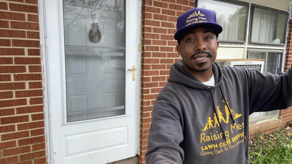 He travels the United States helping others, but now he may not be able to stay