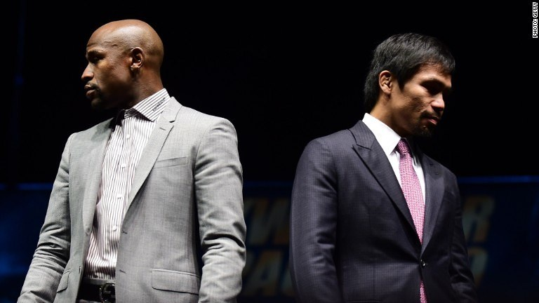 Betting 'unprecedented' on Mayweather-Pacquiao fight