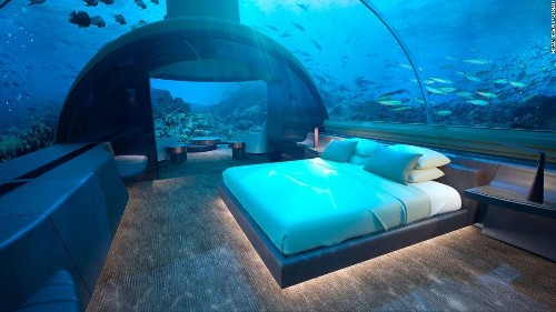 Maldives to open 'world's first' underwater hotel residence