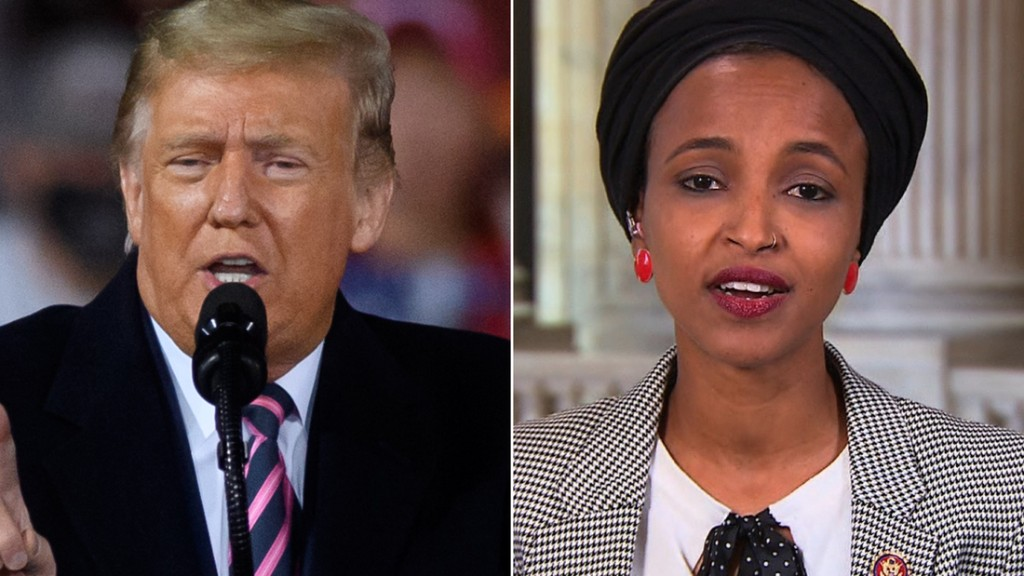 Ilhan Omar responds to Trump's racist attack