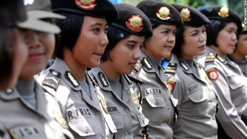 Indonesia's 'discriminatory, cruel and degrading' test for female police recruits