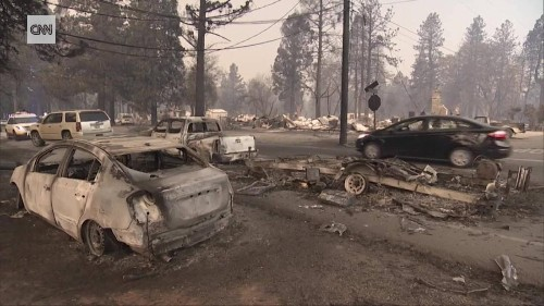 44 dead in California fires as the Camp Fire becomes the deadliest in state history