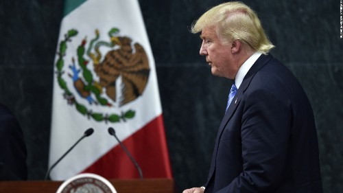 Trump orders construction of border wall, boosts deportation force