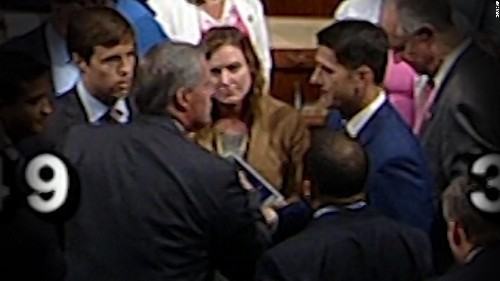 Republican House member unloads on Paul Ryan in explosive floor exchange