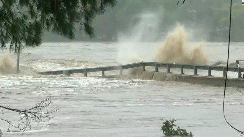 A 2nd victim has died in the Texas flooding, but the Llano River is going down