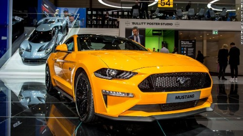 Ford's new Mustang is an electric SUV