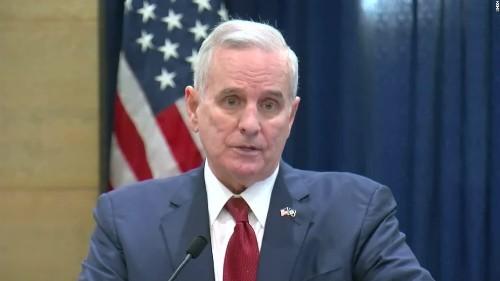 Minnesota governor says he has prostate cancer