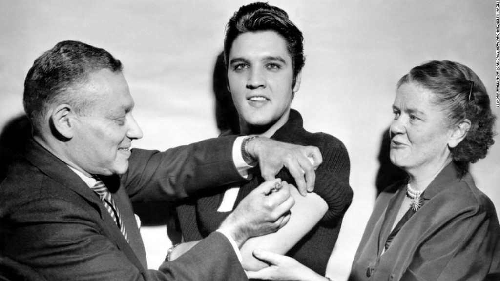 Opinion: How Elvis Presley can help us with a Covid vaccine