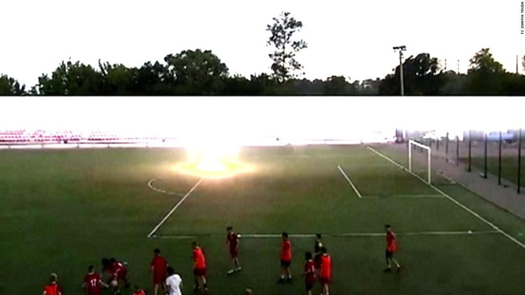 Russian goalkeeper, 16, makes remarkable recovery after being struck by lightning