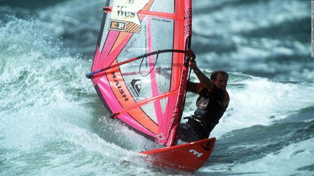 How Robby Naish conquered the waves
