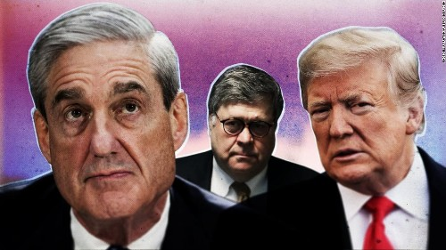 Justice Dept. to release two versions of redacted Mueller report