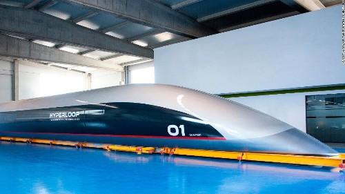 New full-scale Hyperloop passenger capsule revealed