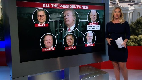 All the President's men: Trump's allies part of a tangled web