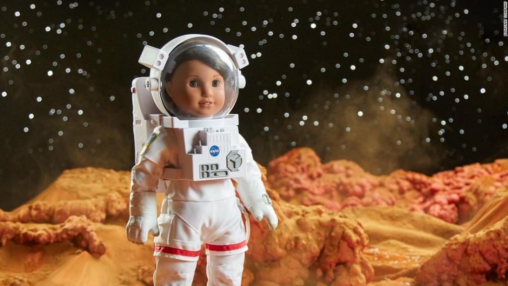 New American Girl doll is an aspiring astronaut