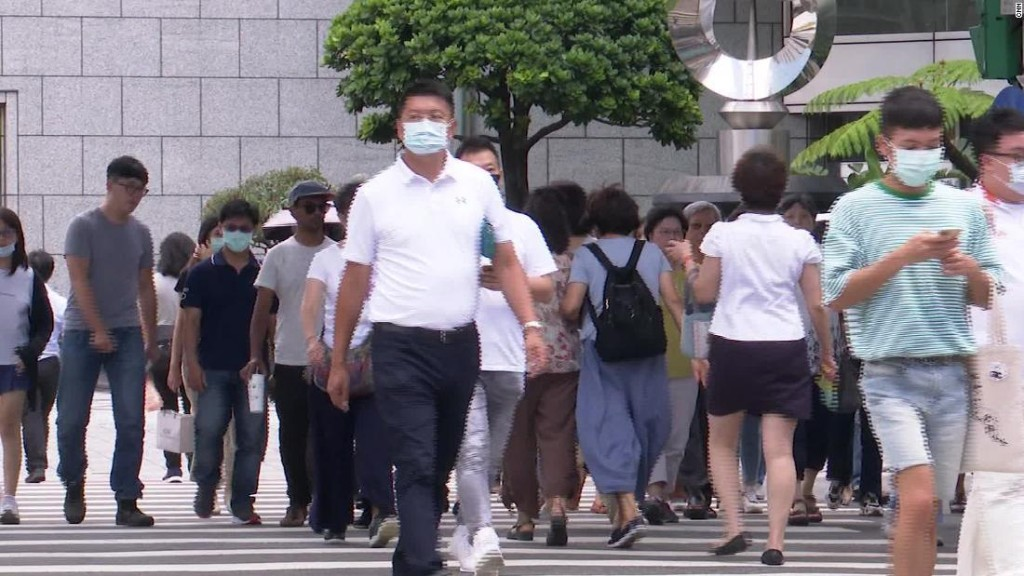 Taiwan just went 200 days without a locally transmitted Covid-19 case. Here's how they did it