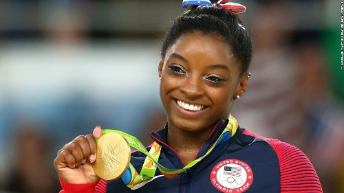 Simone Biles just became the first gymnast to land a double-double dismount, and it's incredible