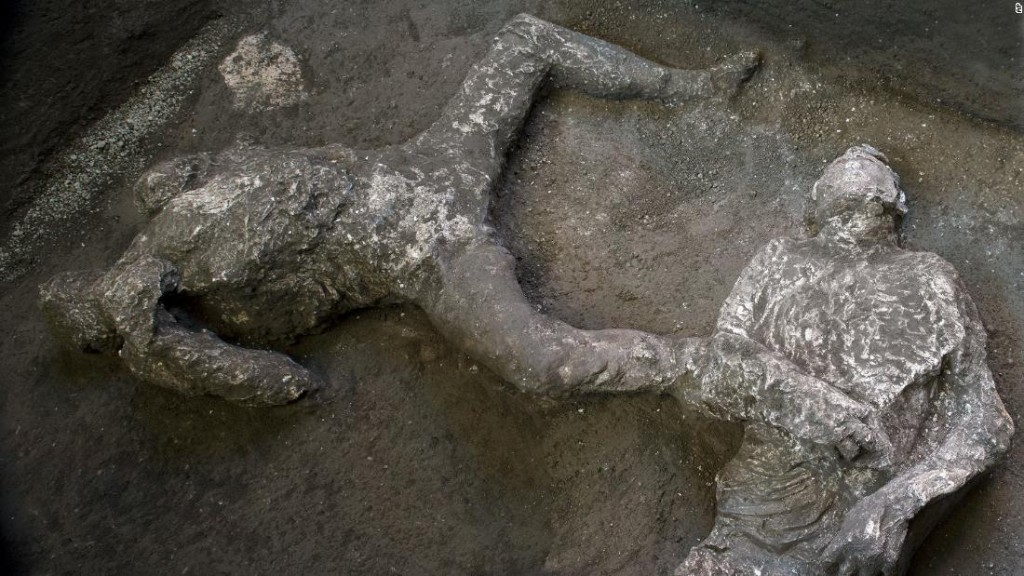 Bodies of rich man and slave discovered in Pompeii ruins