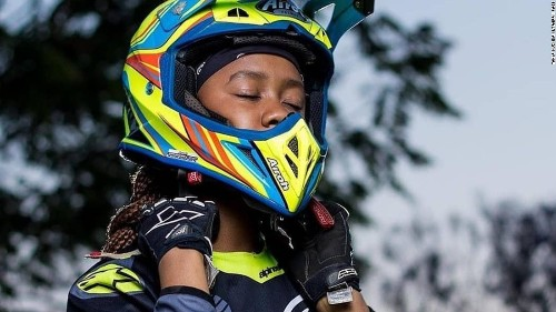 This 15-year-old biker took on a men's world of Motocross and left them in the dust