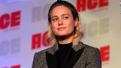 Brie Larson's reaction to witnessing a proposal is so pure