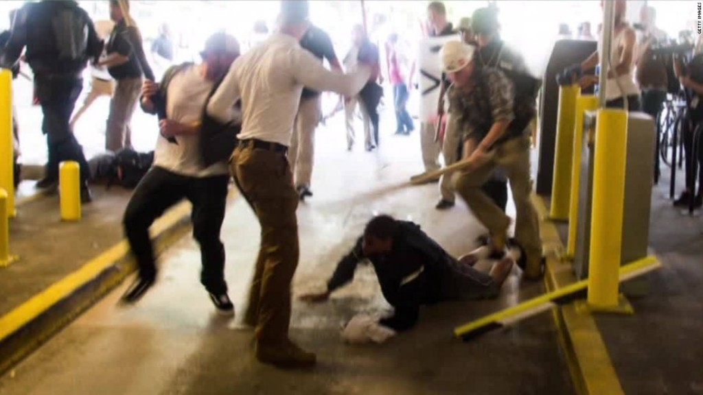 Man beaten by white supremacists in Charlottesville is arrested