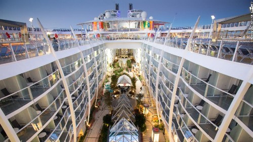 The 15 largest cruise ships in the world