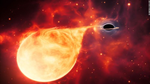 Elusive 'missing link' black hole discovered by Hubble