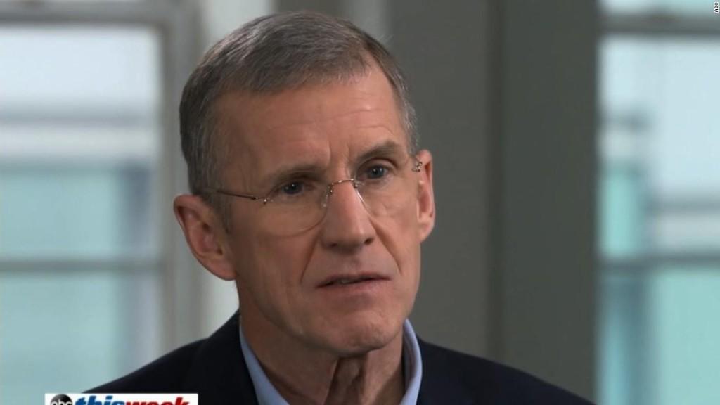McChrystal: I think Trump is immoral, dishonest