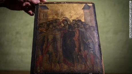 A $26M Cimabue masterpiece was found in an elderly woman's kitchen. Now France is blocking its export