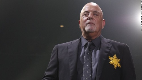 Billy Joel dons Jewish star against Neo-Nazis