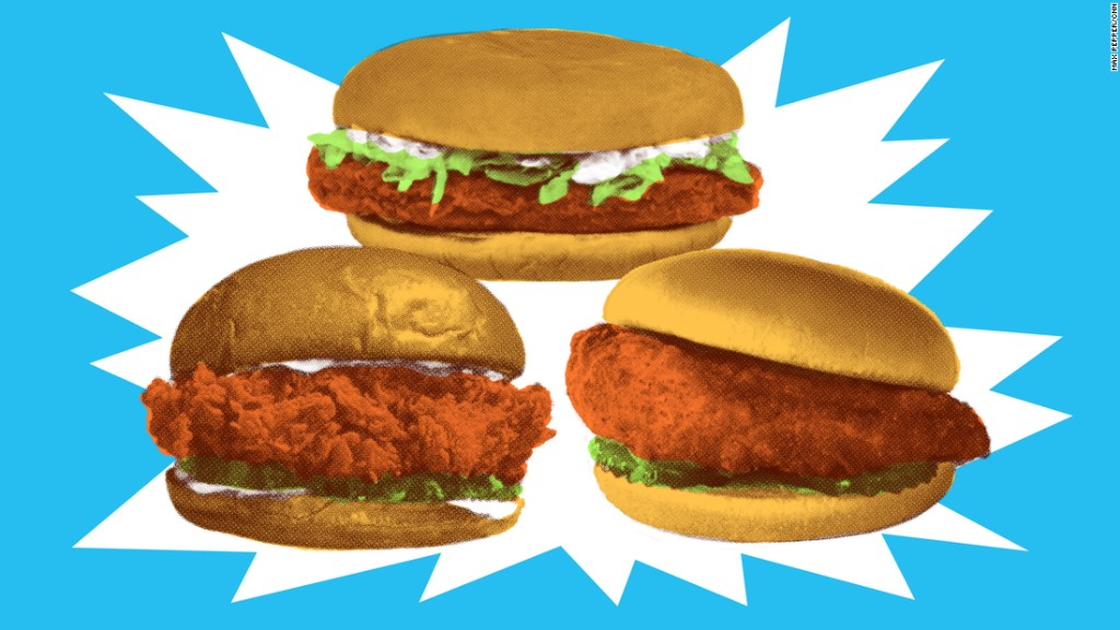 KFC is testing a new chicken sandwich
