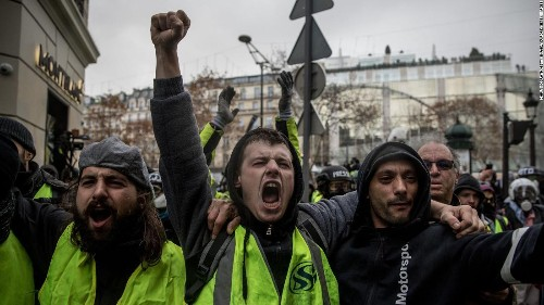At least 24 Yellow Vests lost eyes in violent protests. Now they're more determined than ever