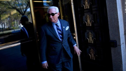 Trump associate Roger Stone found guilty of lies that protected Trump