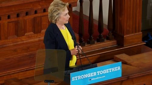 Poll: Advantage Clinton as conventions begin