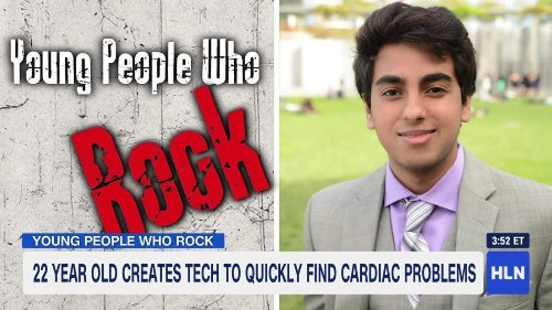 22-year-old's 3-D scanner can diagnose heart diseases in 90 seconds