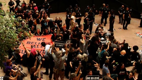 More than 300 protesters arrested as Kavanaugh demonstrations pack Capitol Hill