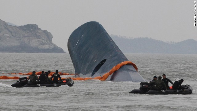 First distress call on S. Korean ferry from passenger, not crew, coast guard says