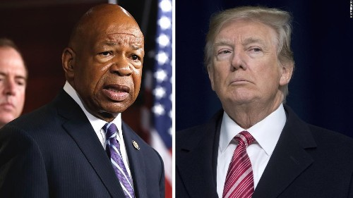 Donald Trump just revealed the strategy behind his Elijah Cummings attacks