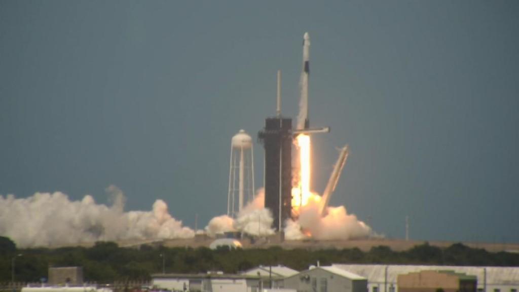 Virgin Galactic stock soars following SpaceX success