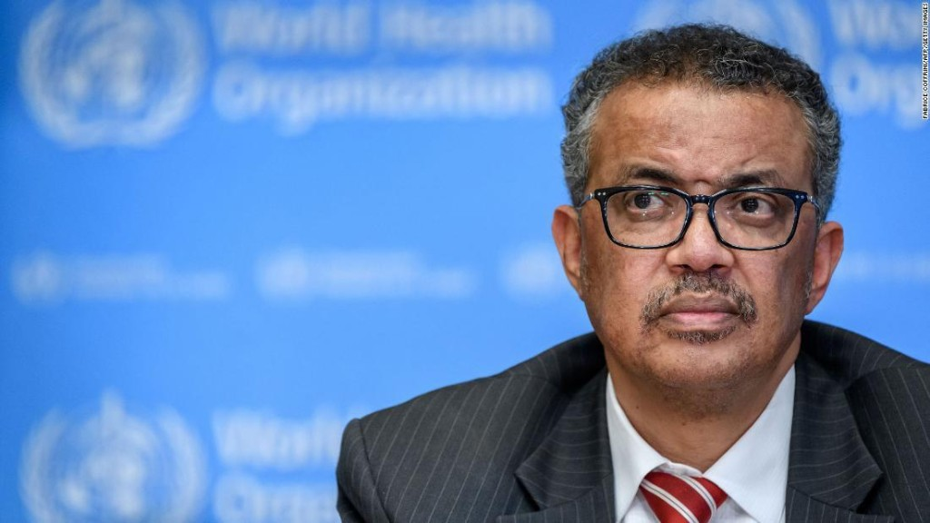 WHO chief blasts lack of global leadership as Covid-19 cases mount worldwide
