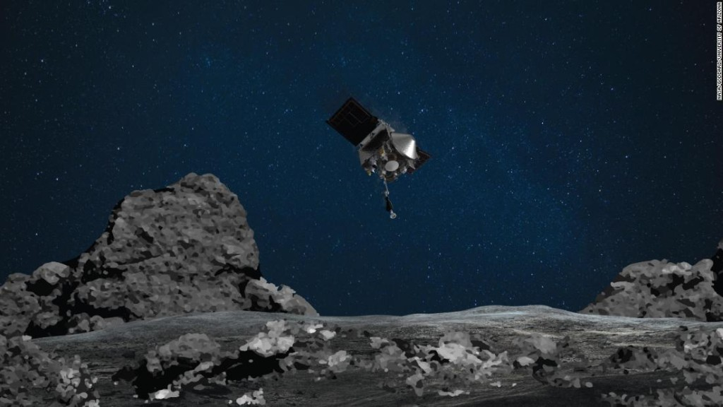 Asteroid Bennu is about to play 'tag' with a NASA spacecraft