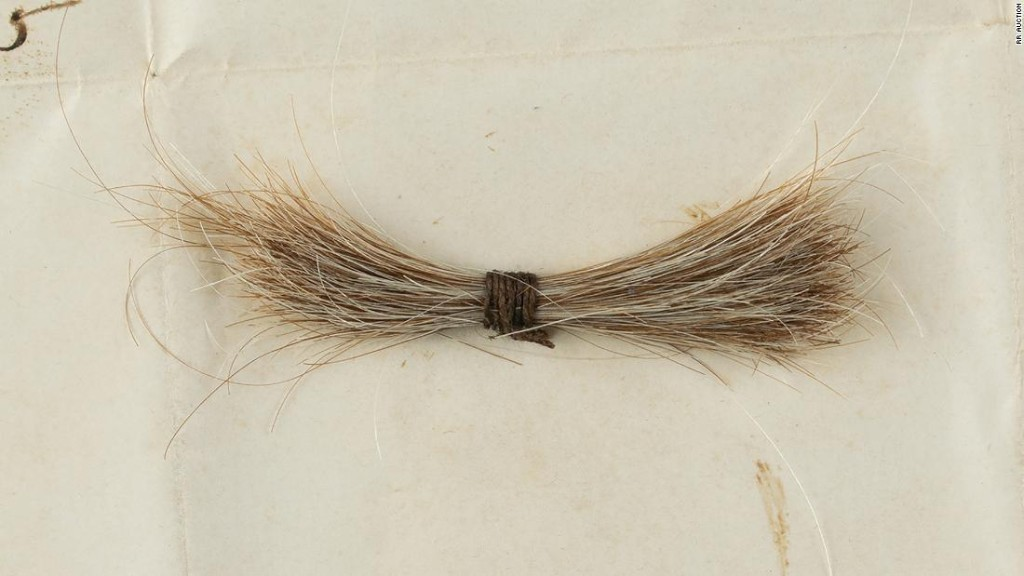 Abraham Lincoln's lock of hair sells for more than $81,000 at auction