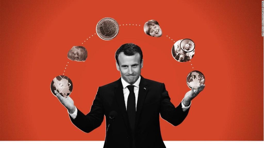 Macron, Afrancesado  - cover