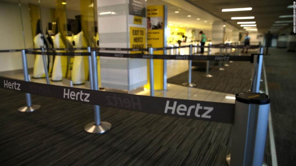 Hertz paid top executives $16 million in bonuses ahead of its bankruptcy filing